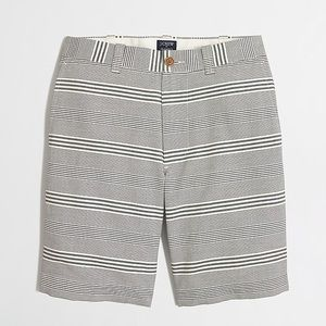 J Crew Gramercy Oxford Stripe Short